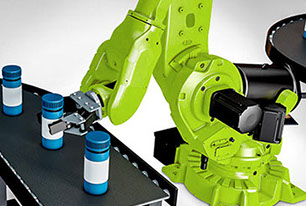 Robotic work cells, design, manufacture of custom tool heads and programming.